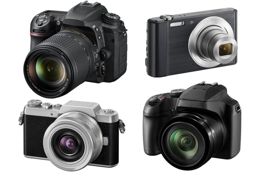 Different digital cameras