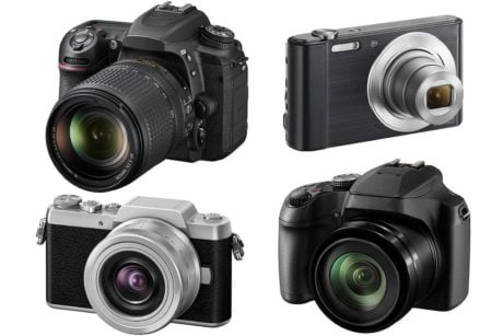 Different digital cameras - Learn photography articles