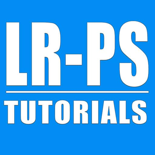 Lightroom Photoshop Tutorials Logo, learn photography
