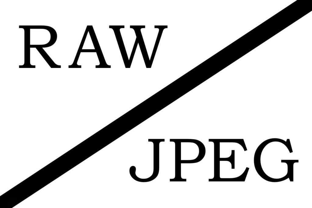 Raw or JPEG Format
