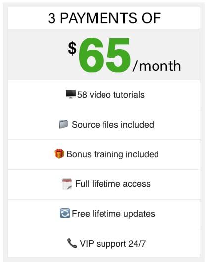 3 time purchase Adobe Photoshop Training