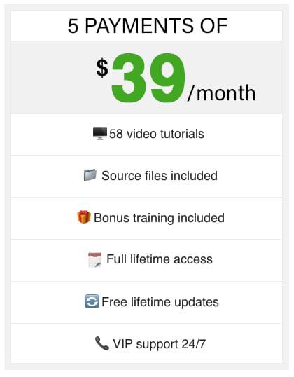 5 time purchase Adobe Photoshop Training