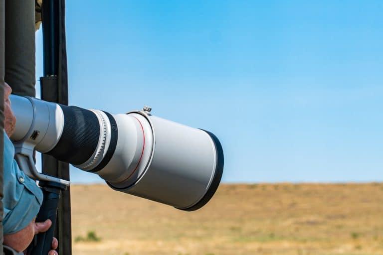 Telephoto landscape lens