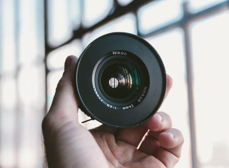 Wide lens for landscape photography