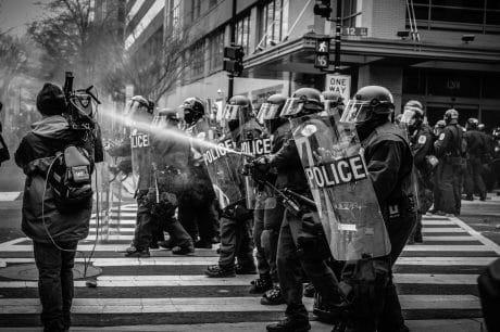 Police Riot photojournalism