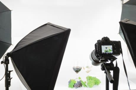Setup for 360 product photography