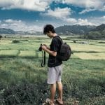 Travel Photographer taking photos - Tips for travel Photography