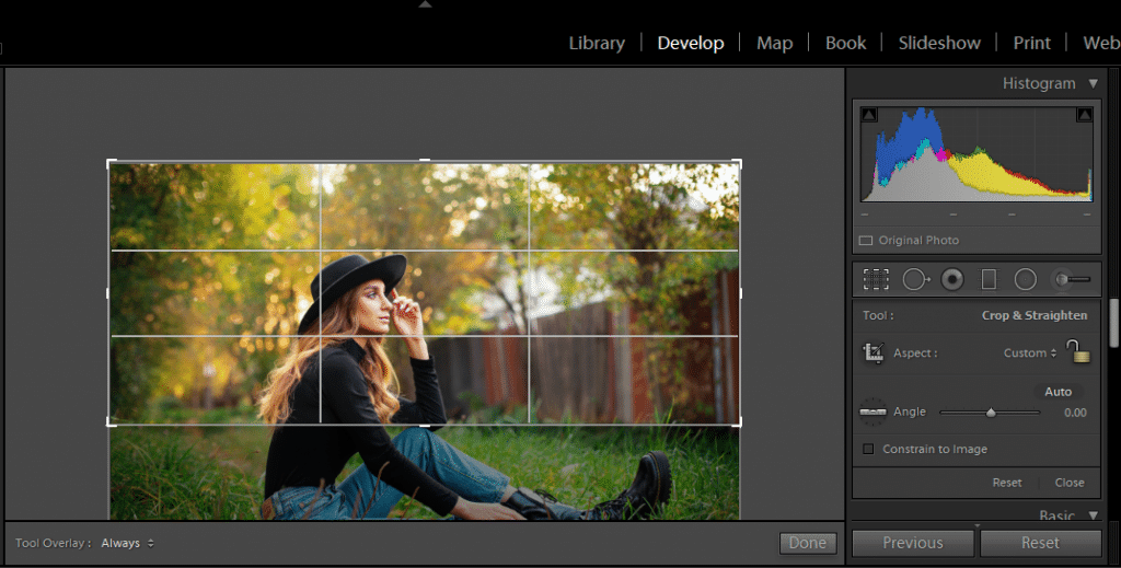 How to change Aspect Ratio of a Girl Photo