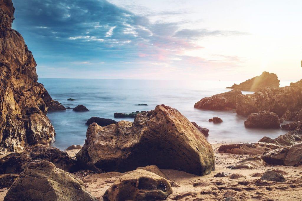 Sun flare seascape - Tips for Seascape Photography