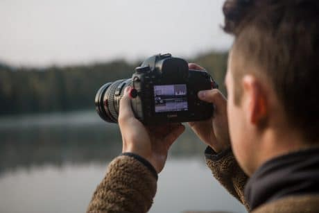 Photographer understanding what is Exposure Triangle