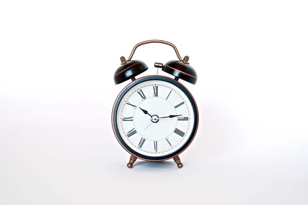 Reflective Alarm Clock - How to Photograph Shiny Objects