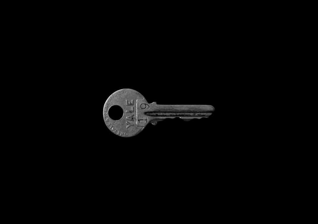 Reflective Key - How to Photograph Shiny Objects