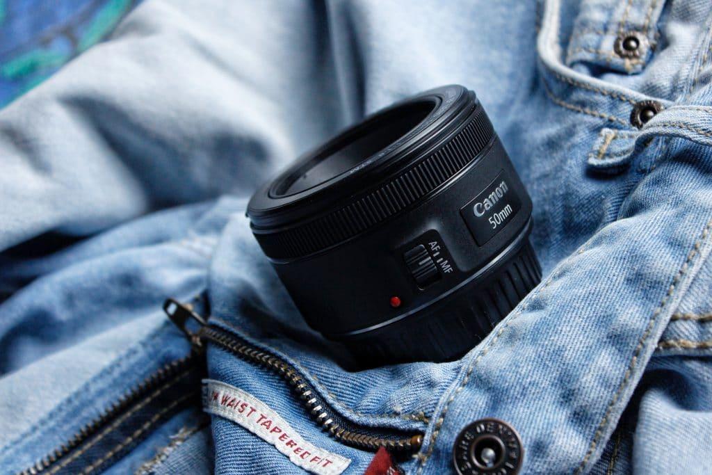50mm lens - 35mm or prime lens