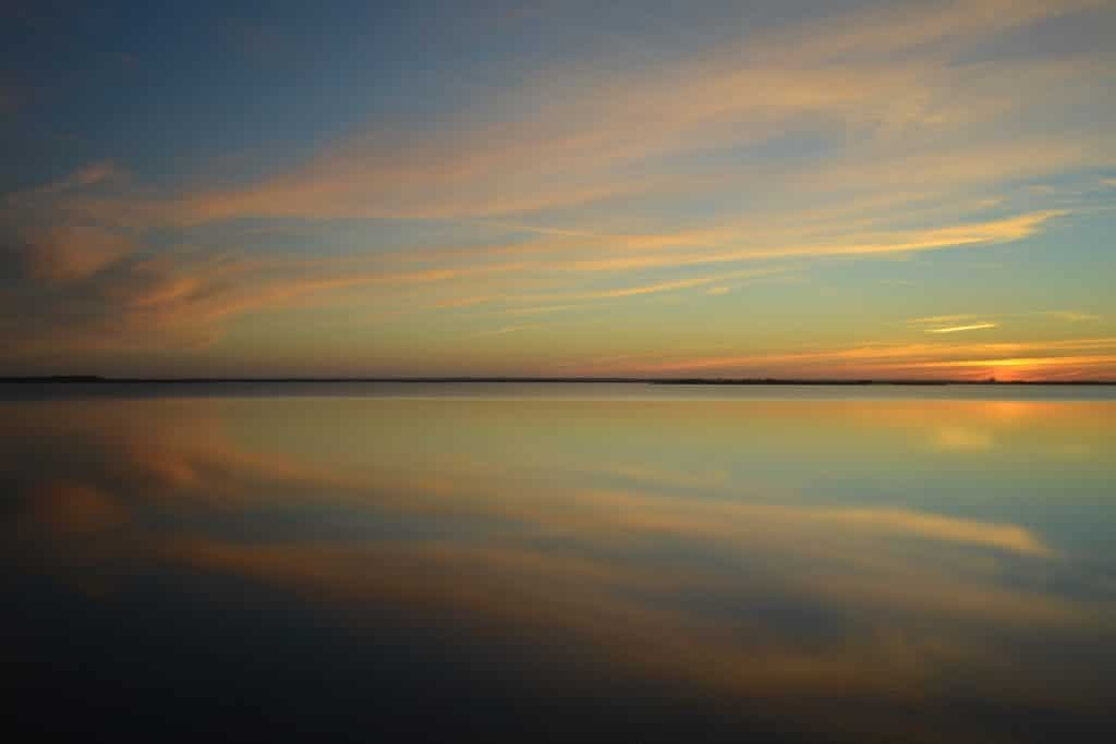 Long Exposure Landscape Photography of a lake