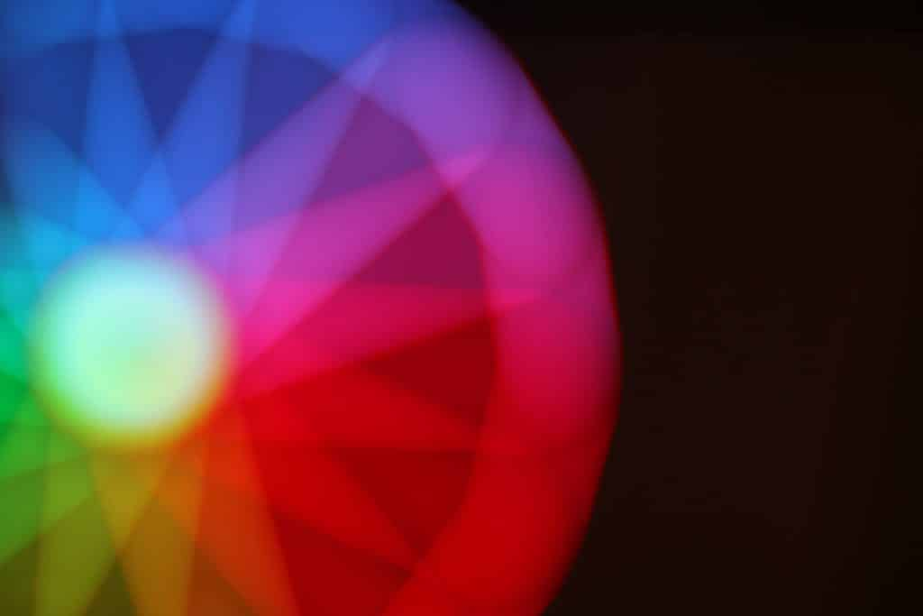 Abstract rainbow - Tips for abstract photography