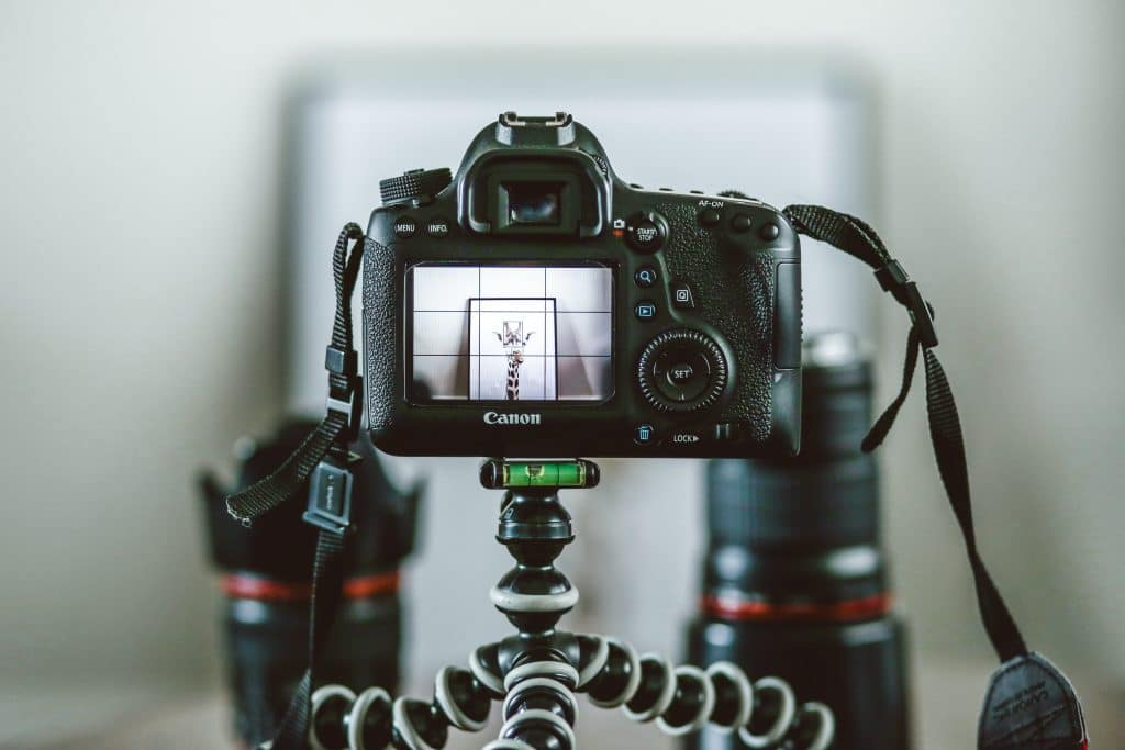 Camera in a studio - What is Shutter Priority Mode