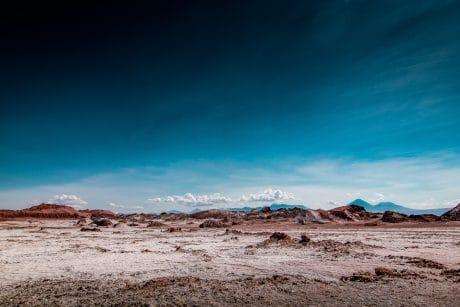Desert Landscape - Color Temperature in Photography