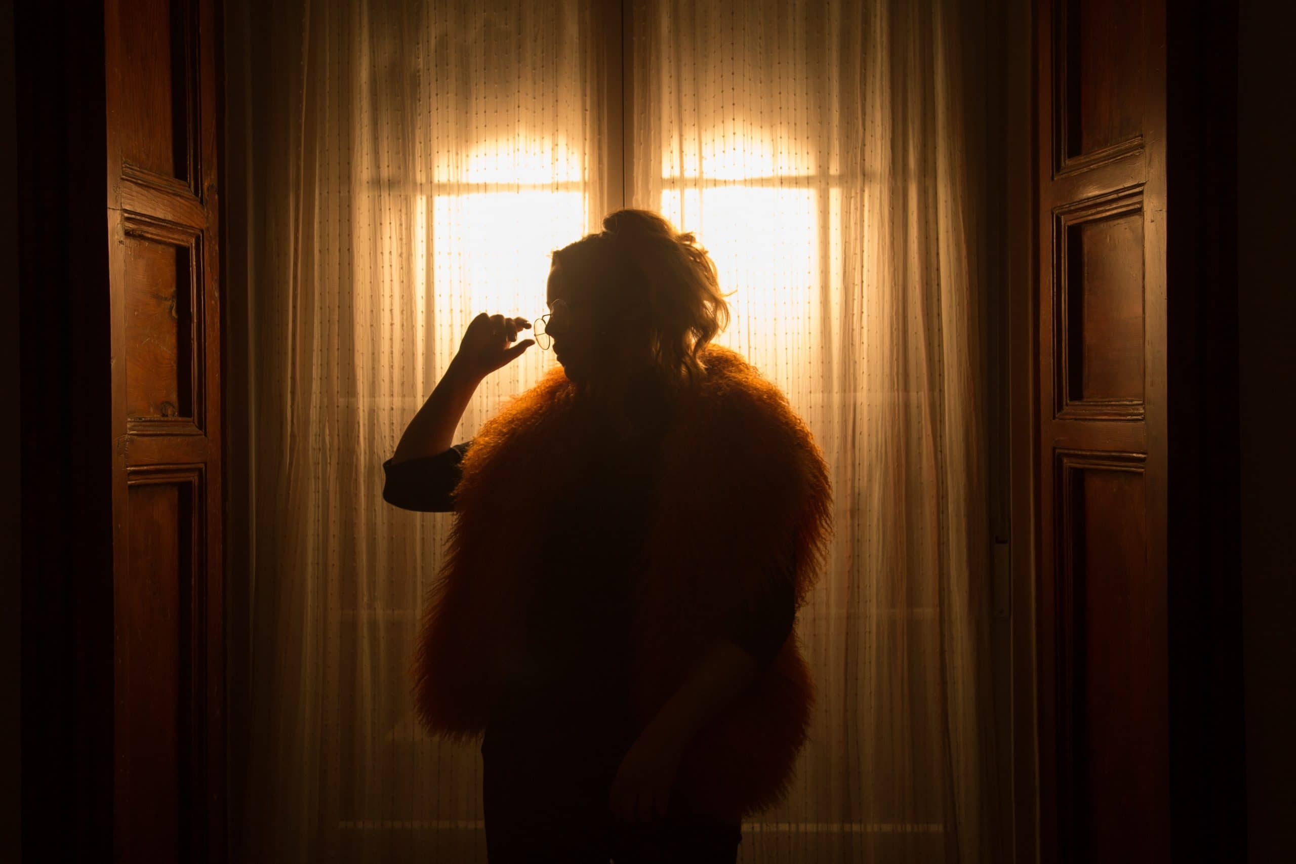 Girl in front of window - What is Backlighting?