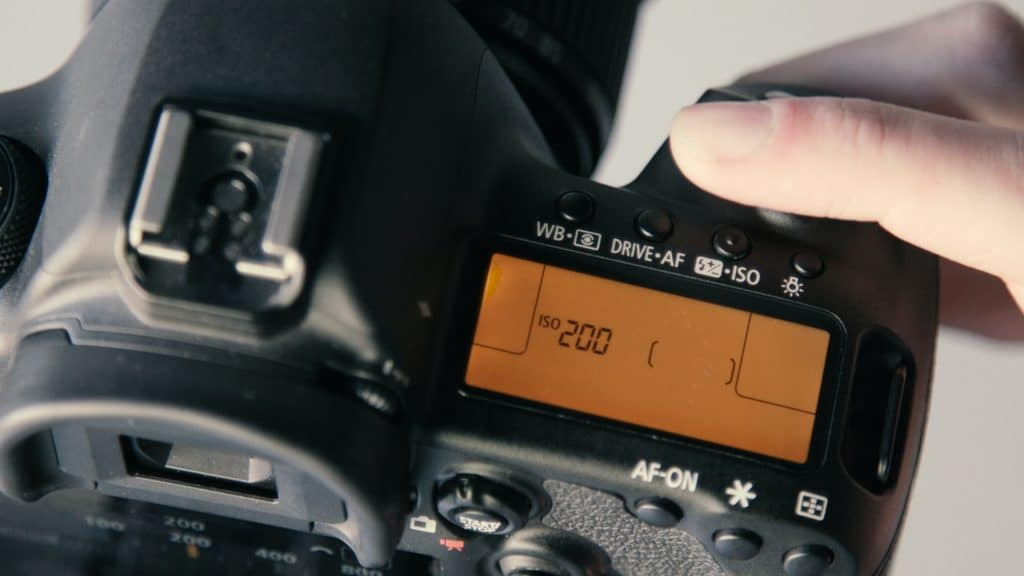 ISO setting on camera - - How to use manual mode