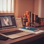 Lightroom opened in the laptop - Essential tools in Lightroom