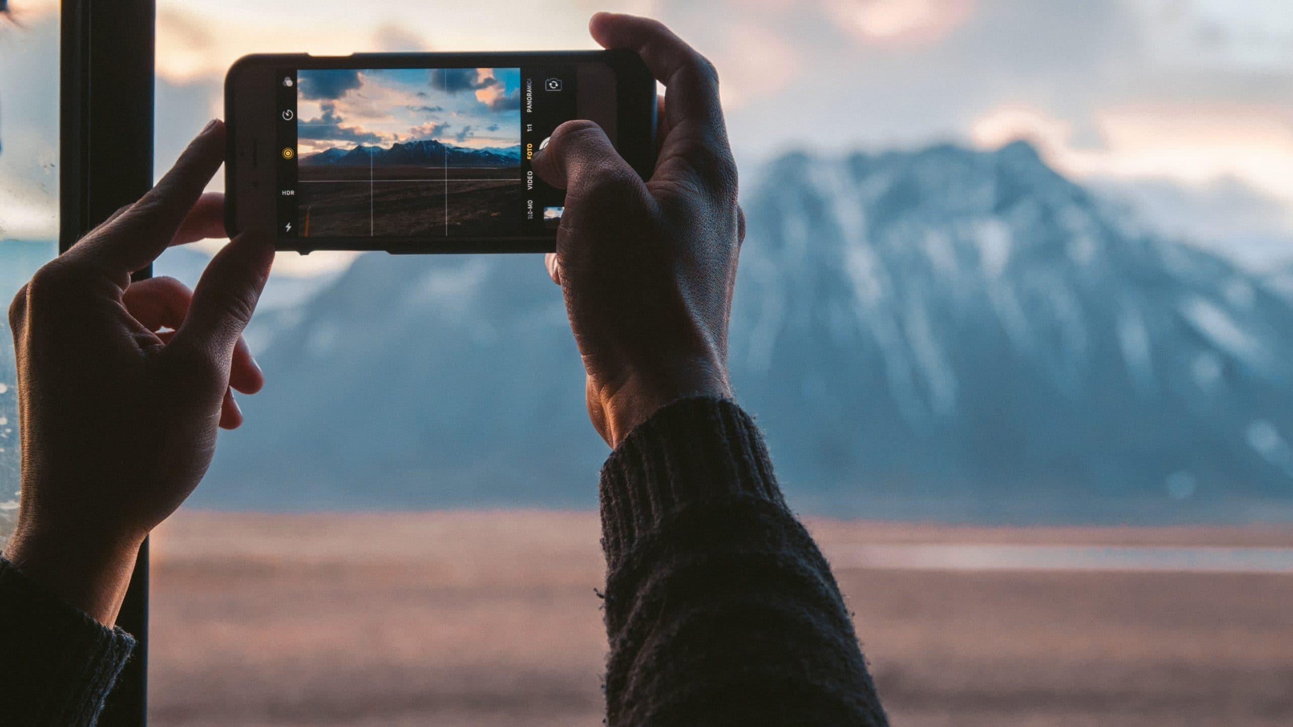 Long exposure phone photography