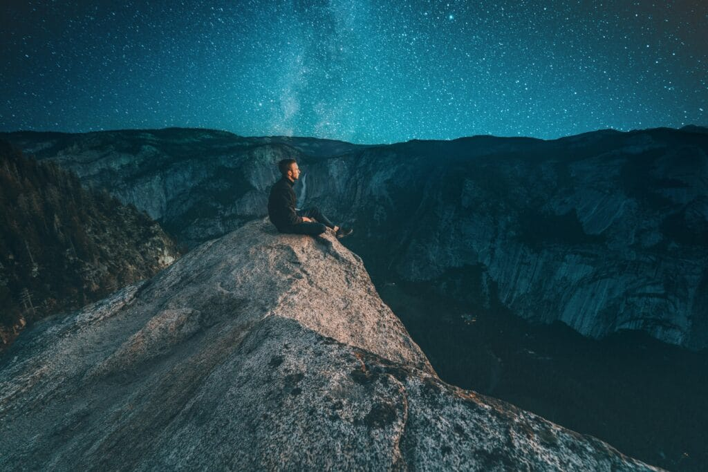 How to edit Astrophotography of a man