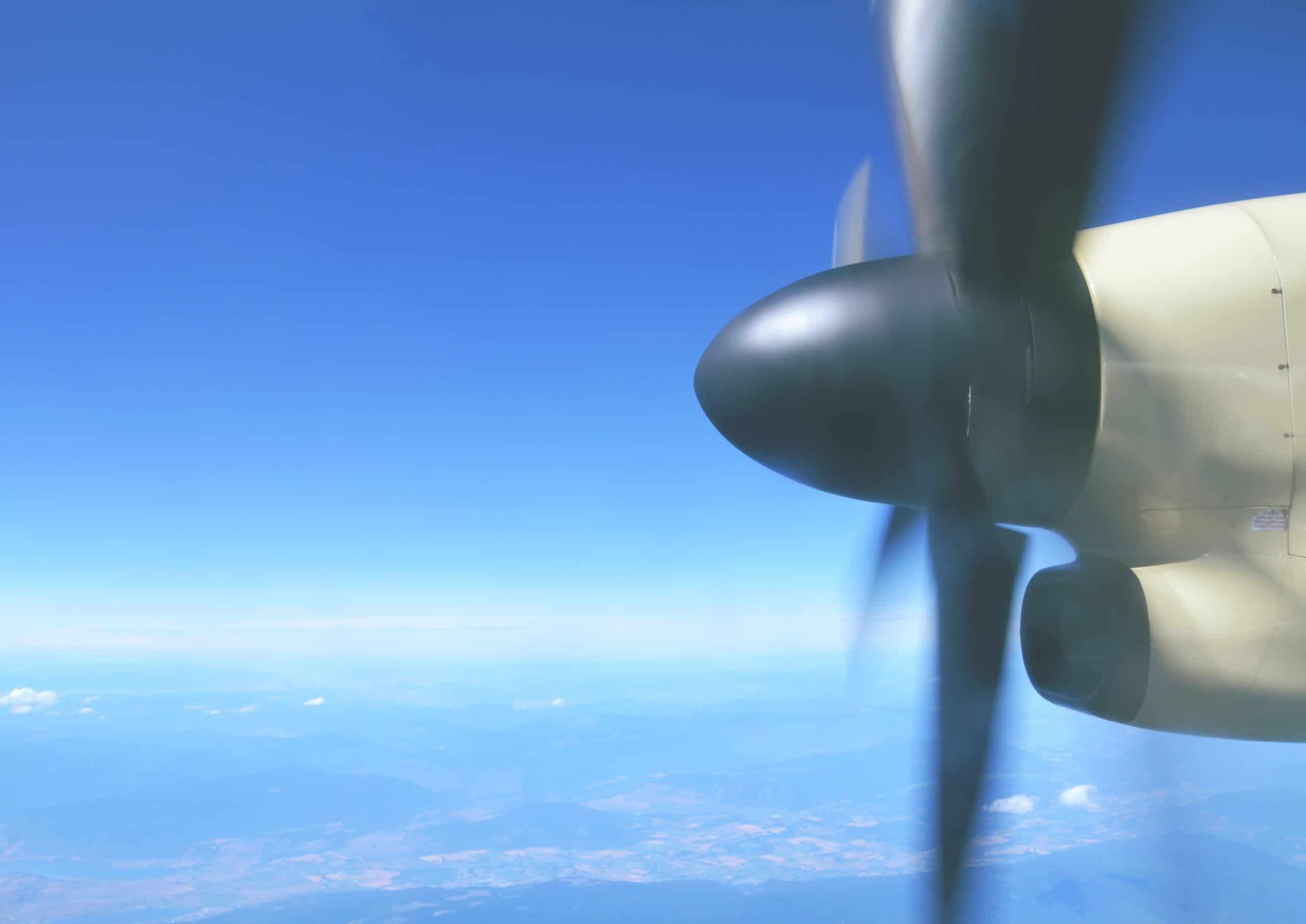 How to Avoid Rolling Shutter Effect on Plan propeller