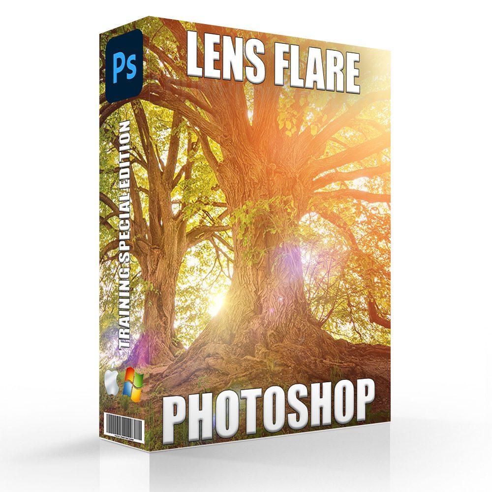 Lens Flare Photoshop Effect - Photoshop Light Effect